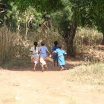 School Children In Malawi