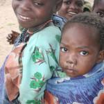 Malawian Girl With Baby